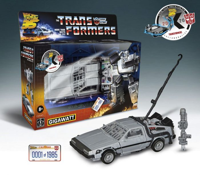 Back to the Future Transformers Crossover