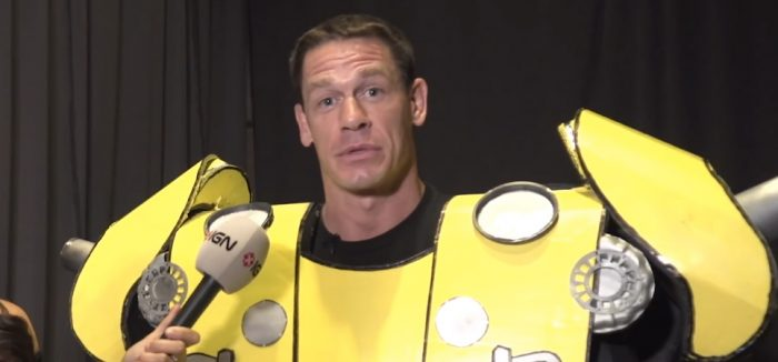 The Morning Watch: John Cena Cosplays as Bumblebee, The White Voices of 'Sorry to Bother You' & More
