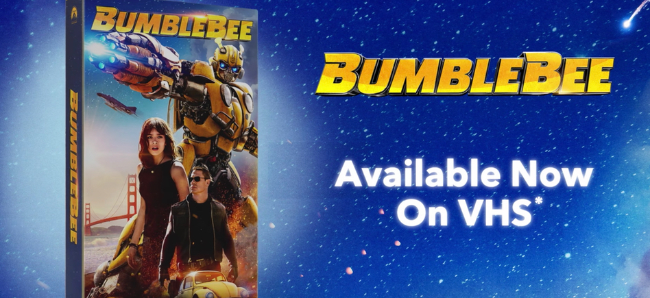 Bumblebee VHS Trailer: Coming Soon to a VCR Near You! – /Film