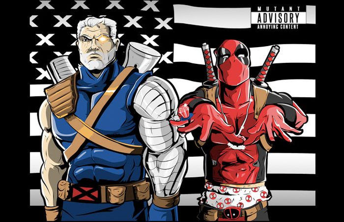 Cable and Deadpool Stankonia T-Shirt