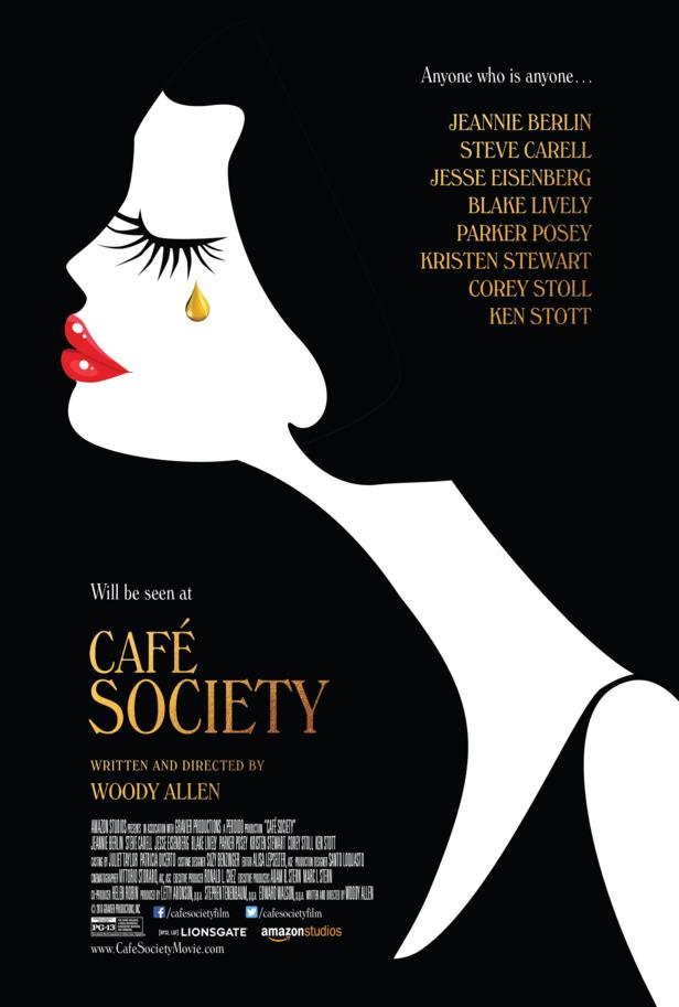cafe society trailer