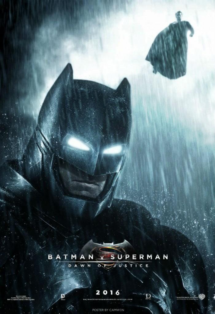 camw1n batman v superman fan poster