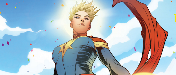 Captain Marvel's Comic Book Origin Story Has Been Revamped to Match the Movie