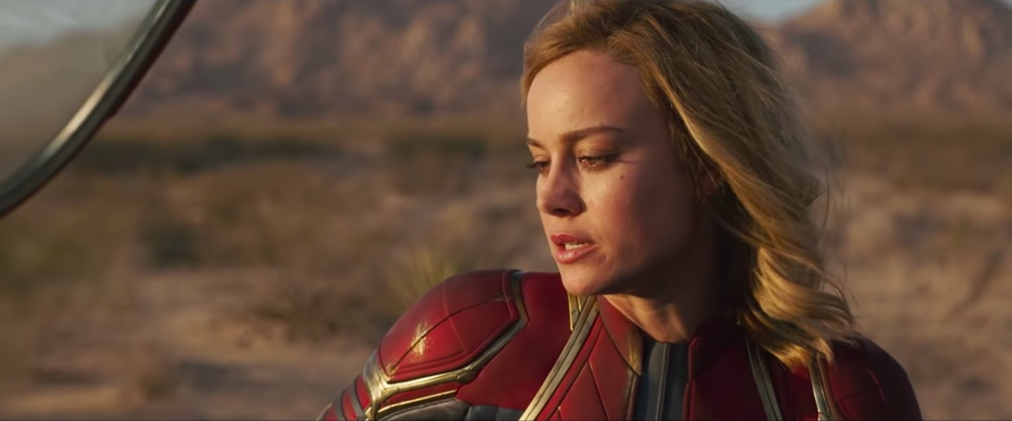 captain marvel credits scenes set up the future, fill in the
