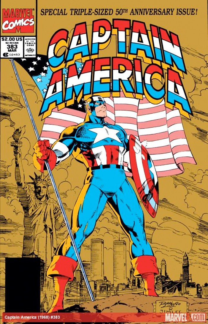 captainamerica-50thanniversary-issue