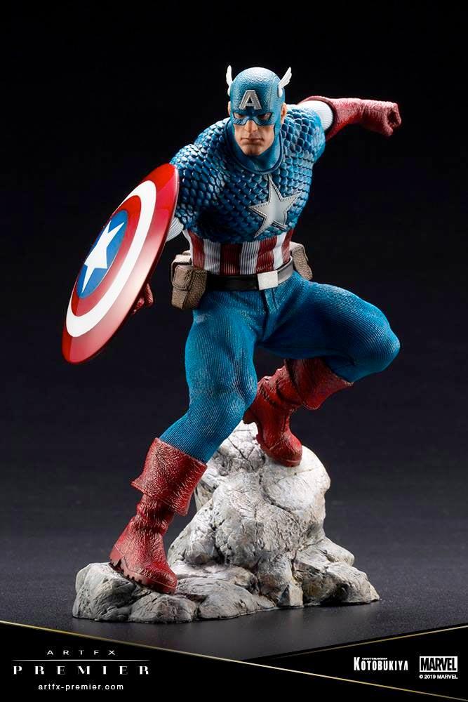 Captain America ARTFX Premier Statue