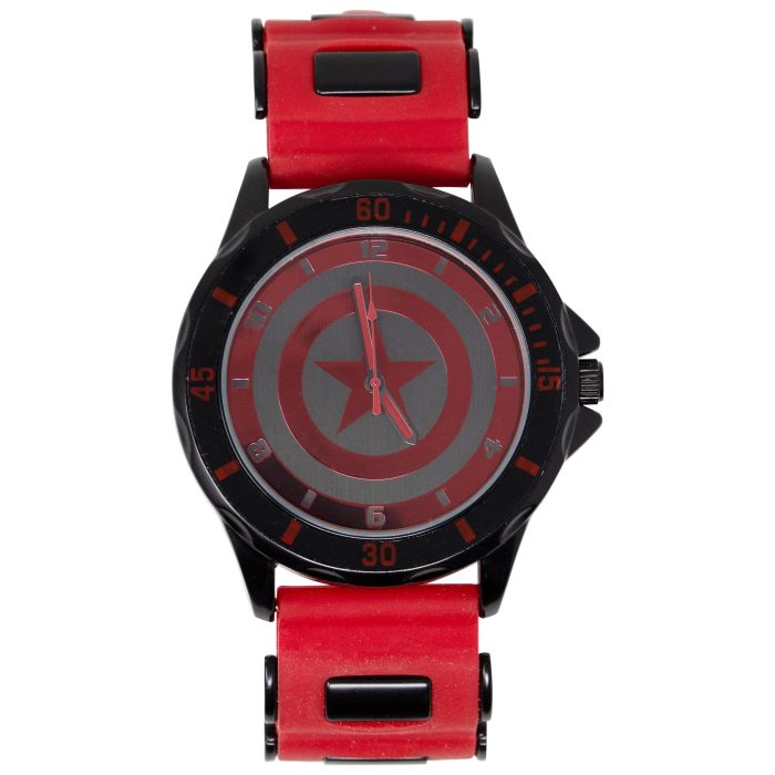 Captain America Black and Red Watch