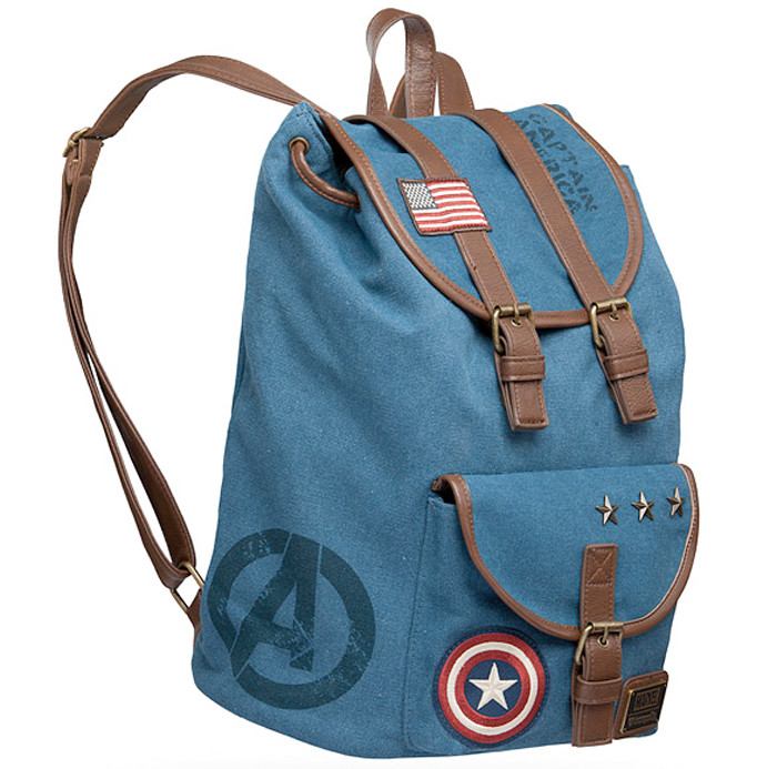 Captain America Canvas Bag