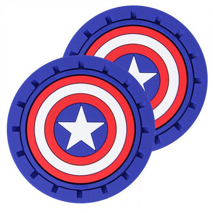 Captain America Car Coasters