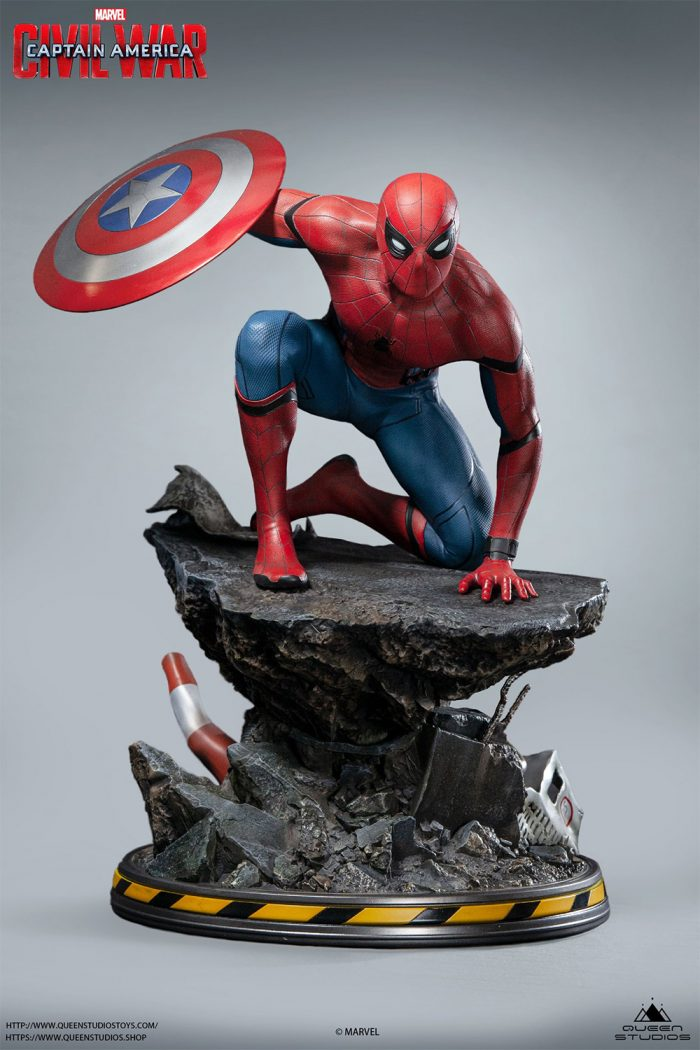 Captain America: Civil War - Spider-Man Statue