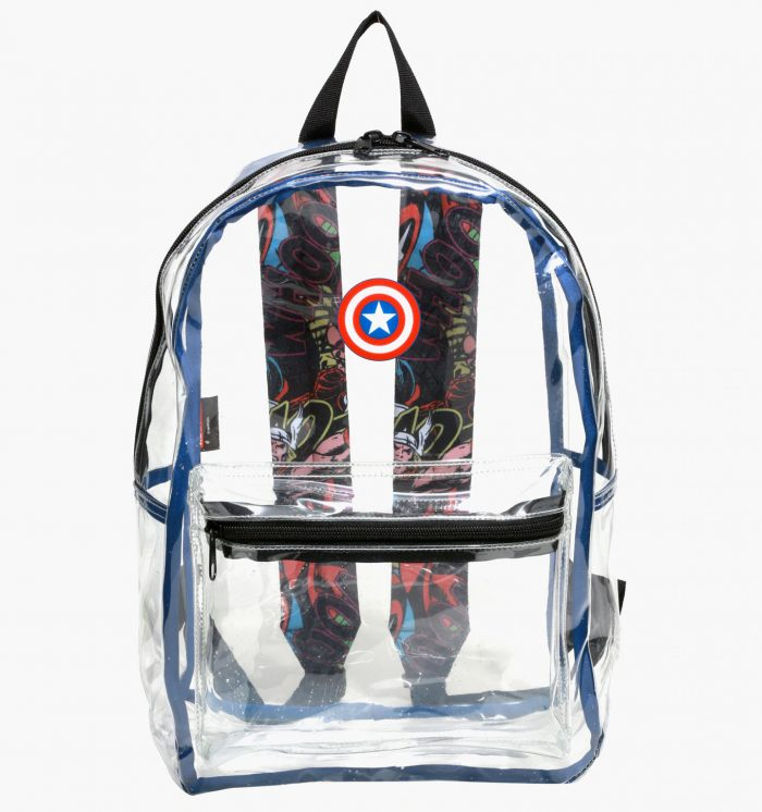 Captain America Clear Backpack