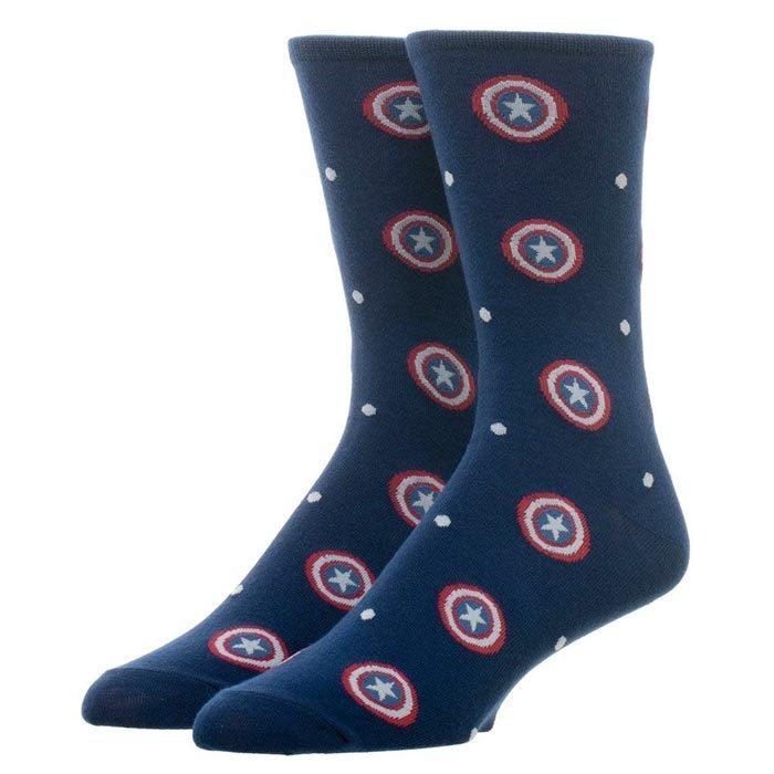 Captain America Dress Socks