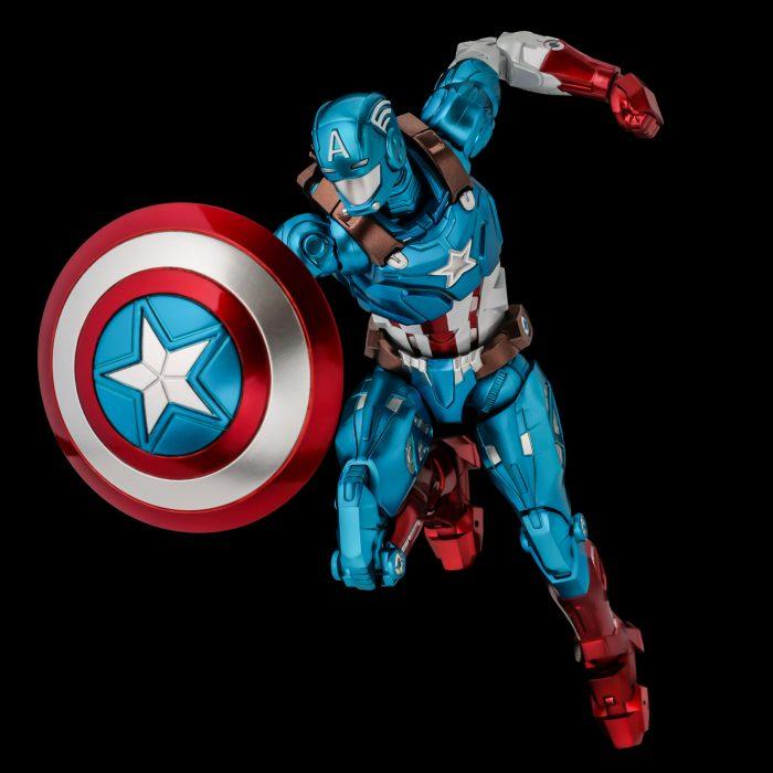 Captain America Fighting Armor Figure