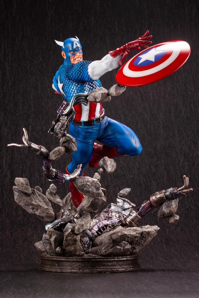 Kotobukiya Captain America Fine Art Statue