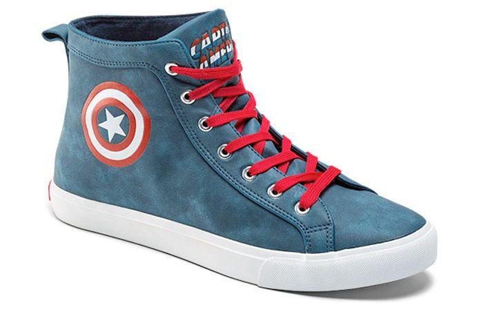 Captain America High Top Sneakers