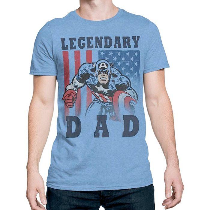 Captain America Legendary Dad Shirt