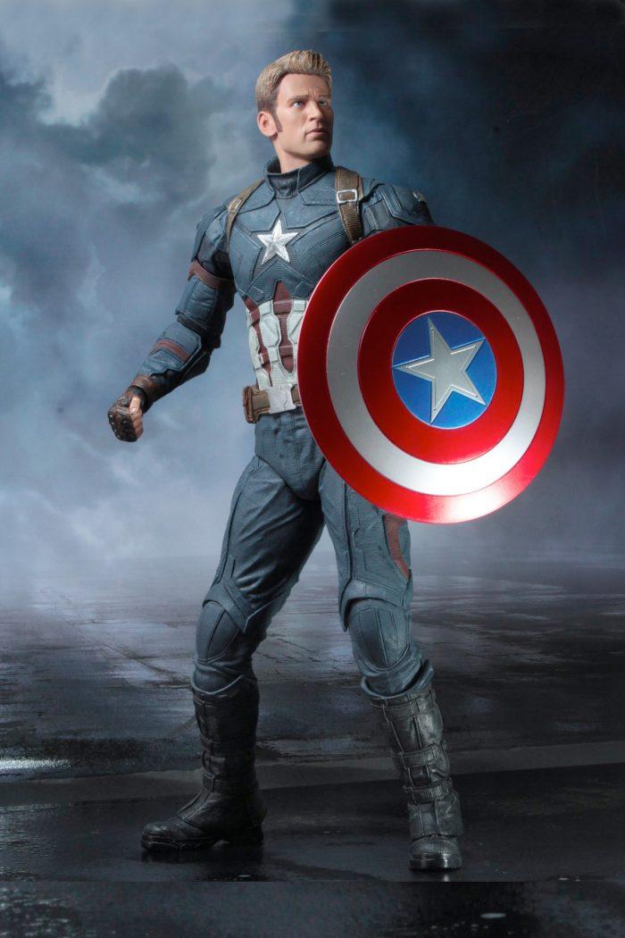 Captain America NECA Fourth Scale Figure