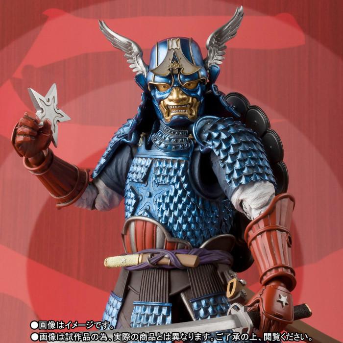 Captain America Samurai Figure