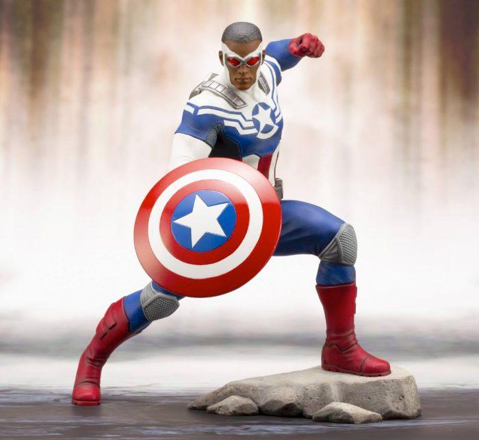 Captain America - Sam Wilson - Kotobukiya ARTFX+ Statue