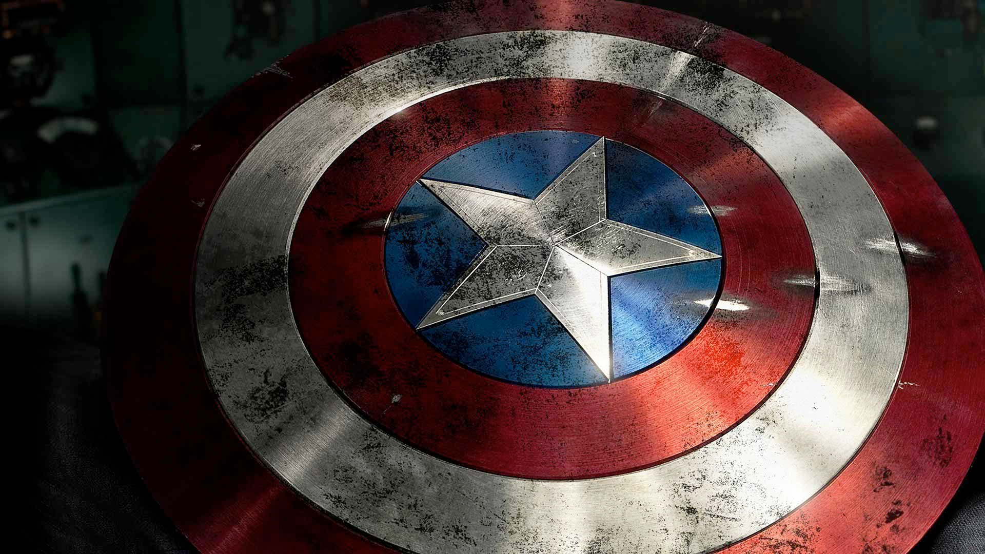 cool stuff one fan made a real captain america shield. Black Bedroom Furniture Sets. Home Design Ideas