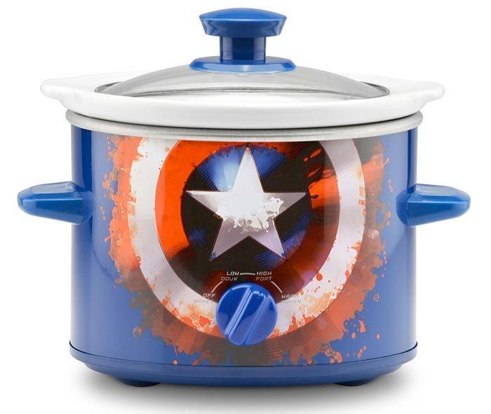 Captain America Slow Cooker