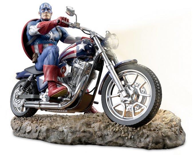 Captain America- Bradford Exchange Statue
