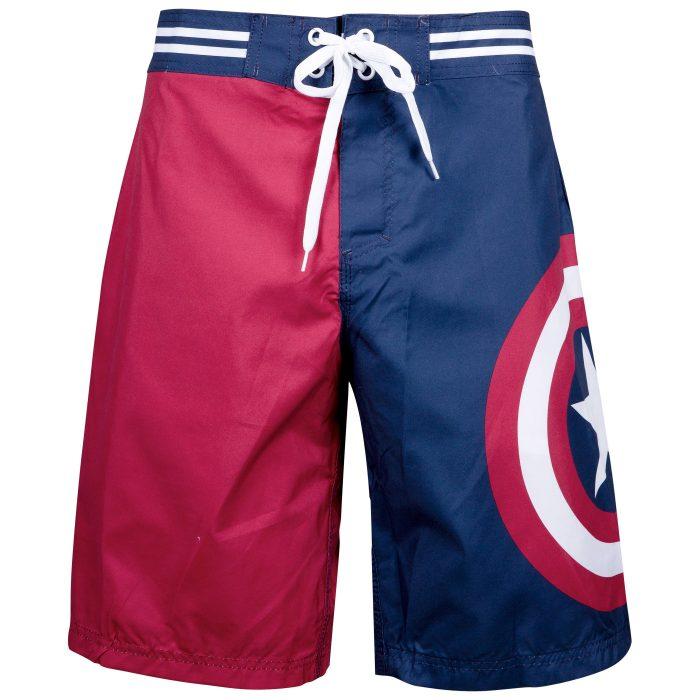 Captain America Swimming Trunks