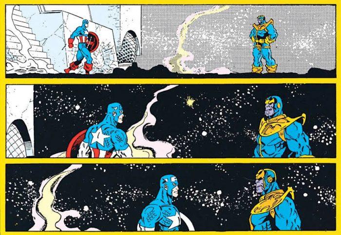 Catain America - Thanos Comic