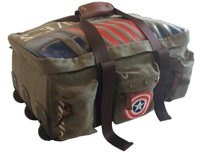 Captain America Vintage Duffel Bag