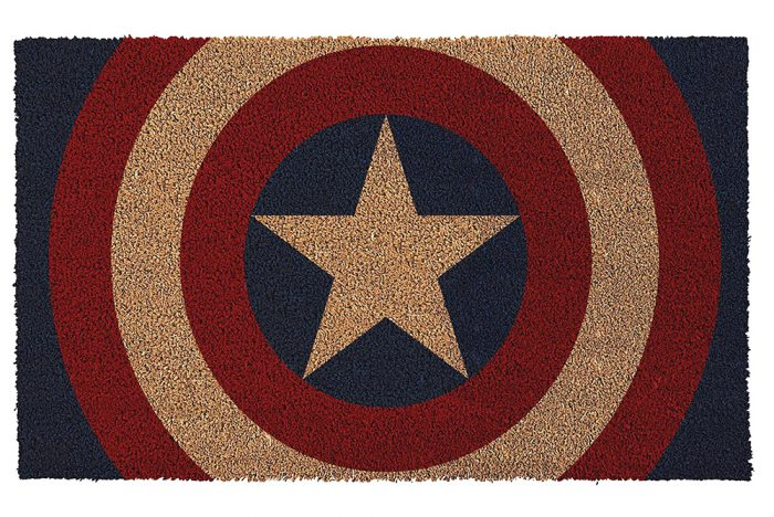 Captain America Welcome Mat