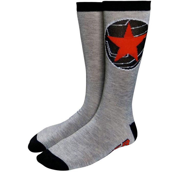 Captain America The Winter Soldier Crew Socks