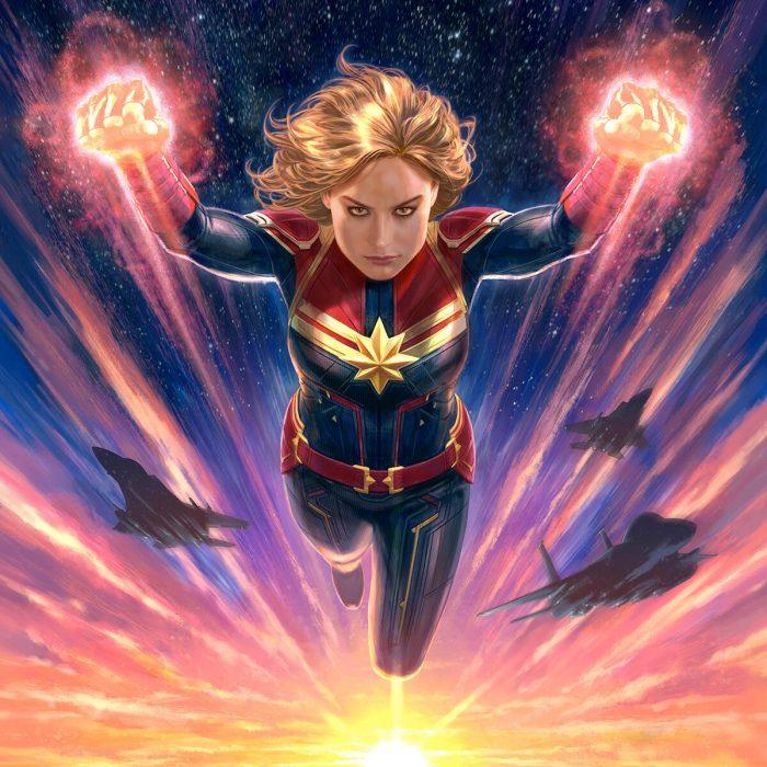 The Art of Captain Marvel Cover