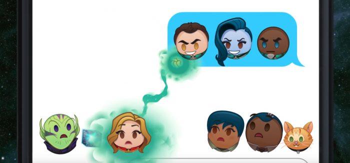 Captain Marvel in Emojis