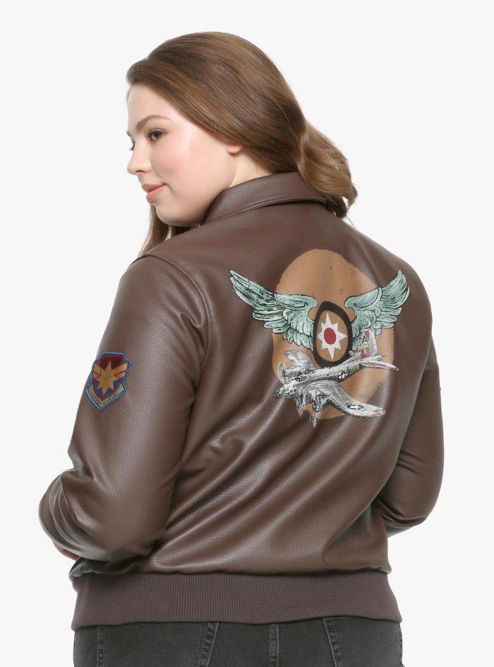 Captain Marvel Aviator Jacket