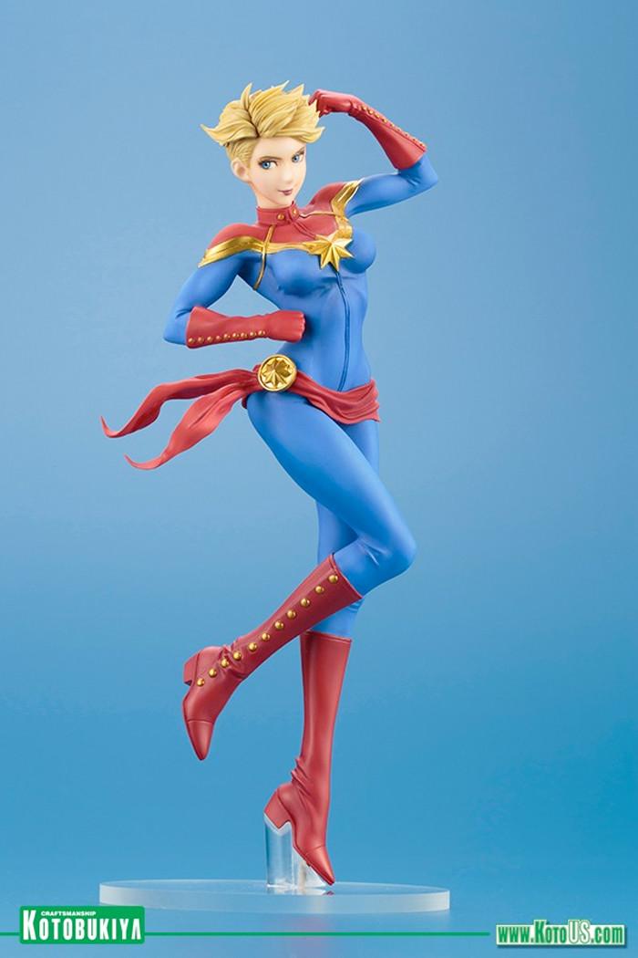 Captain Marvel Bishoujo Statue