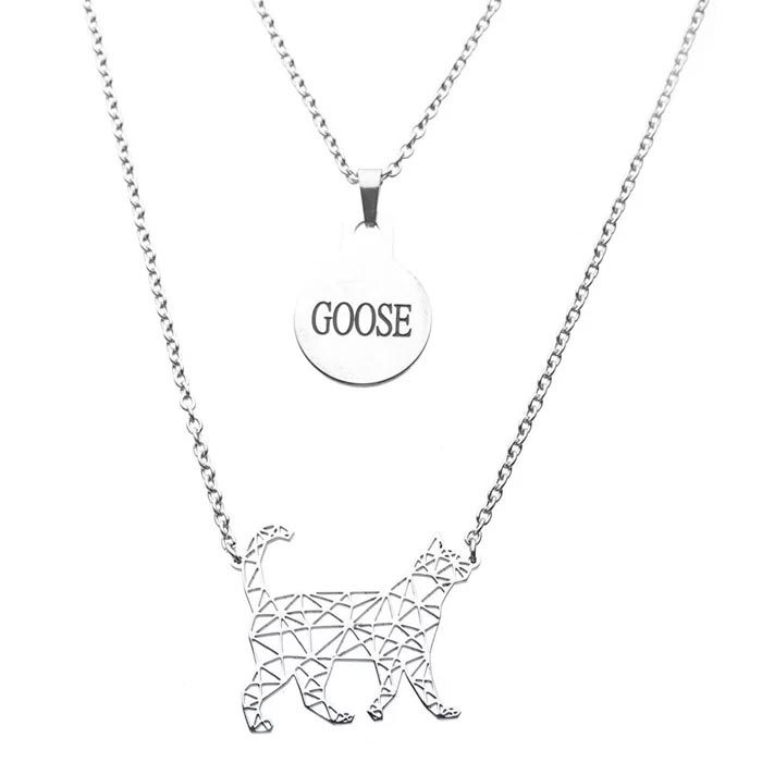 Captain Marvel Goose Necklace