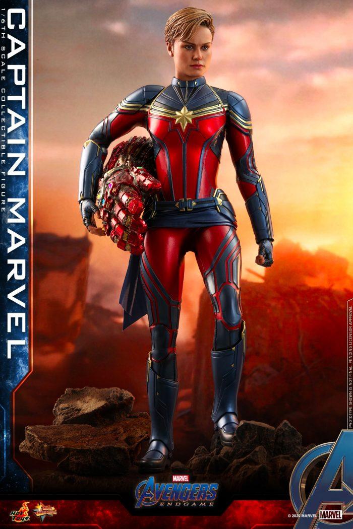 Hot Toys - Captain Marvel - Avengers Endgame