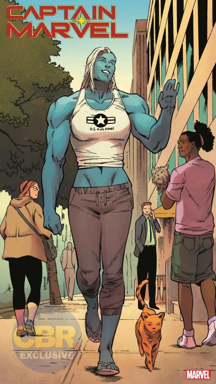 Captain Marvel's Half-Sister Comic Debut