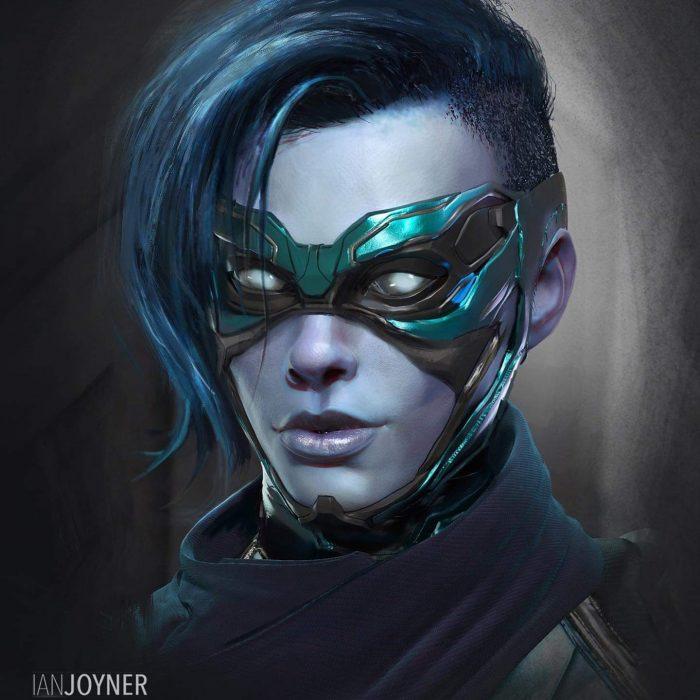 Captain Marvel - Alternate Minerva Mask
