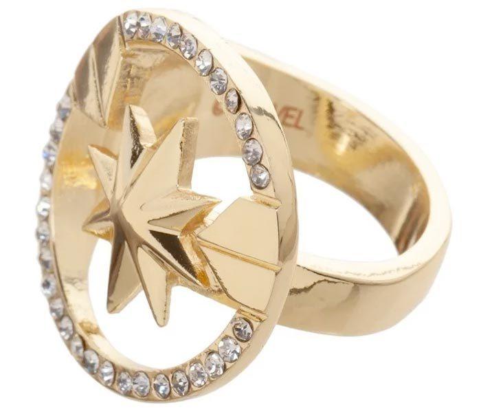 Captain Marvel Ring