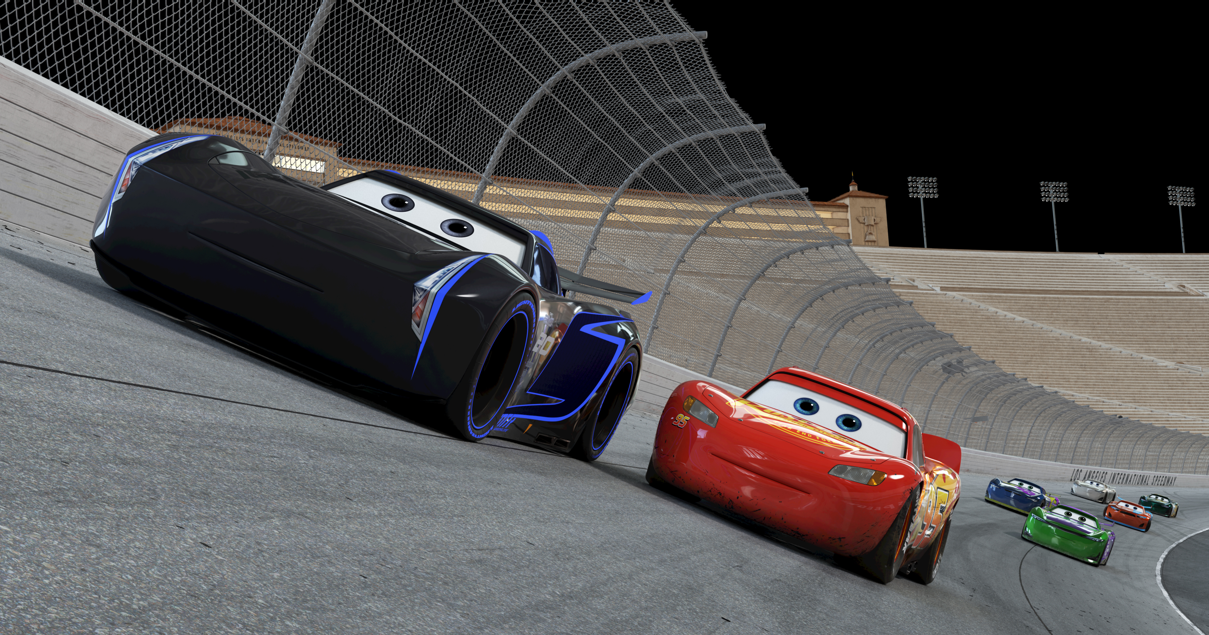 Cars 3 Layout