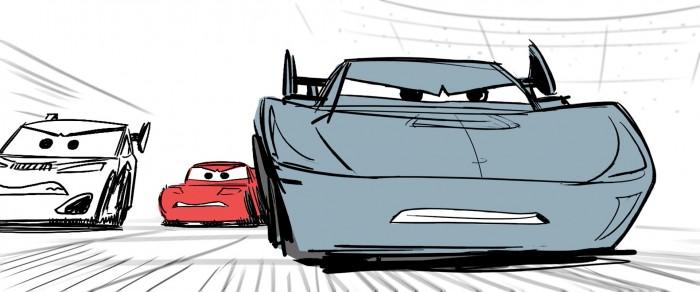 Cars 3 - Storyboard