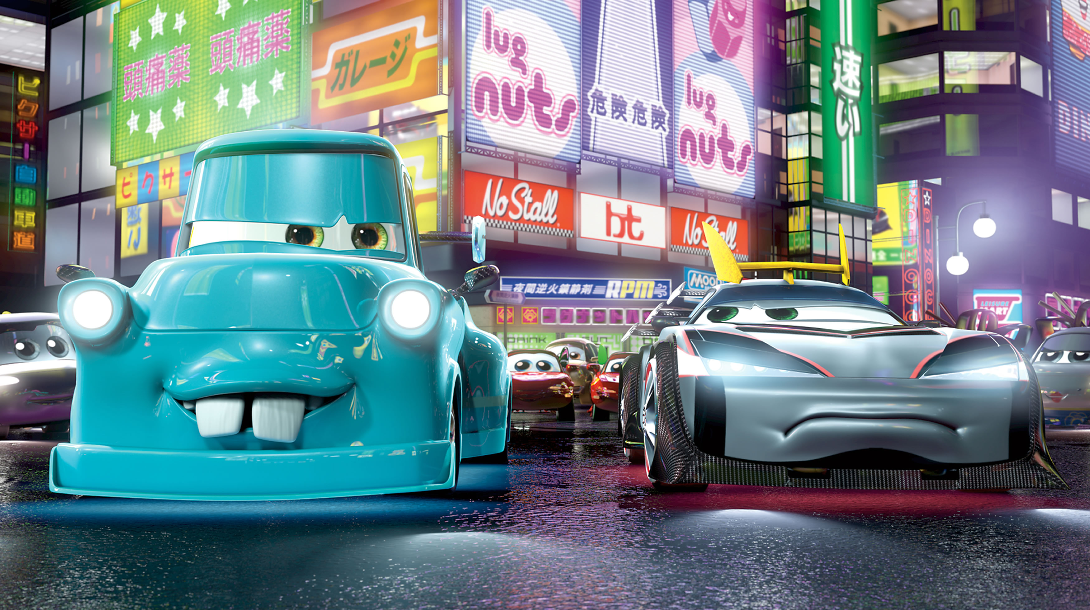 Fritz' Blog: Disney Pixar's Tokyo Mater