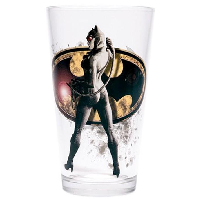 Catwoman Tumbler Pint Glass