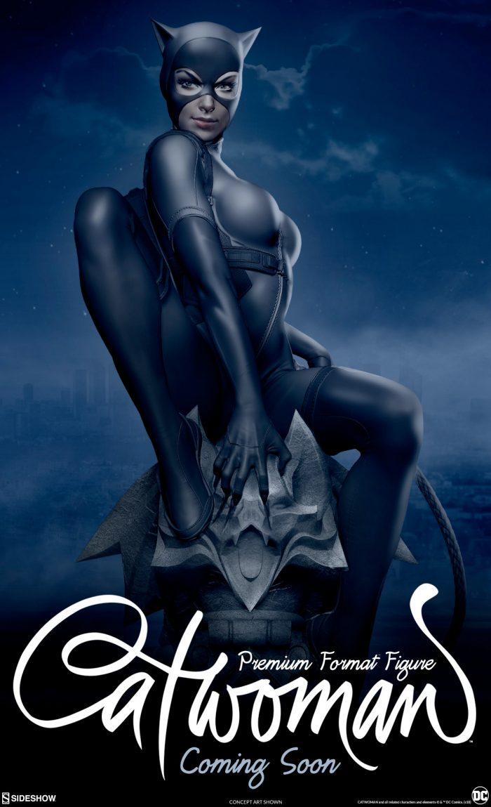 Catwoman Premium Format Figure - Sideshow Collectibles