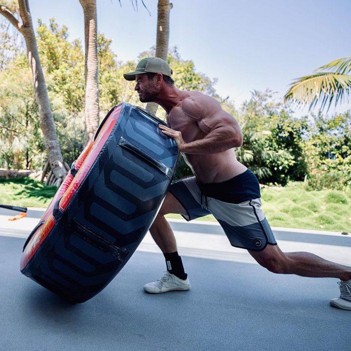 Chris Hemsworth Training for Thor: Love & Thunder
