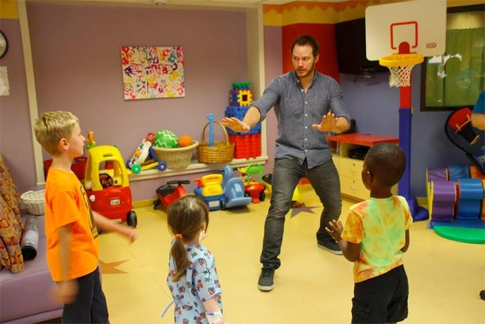 Chris Pratt - Children's Hospital