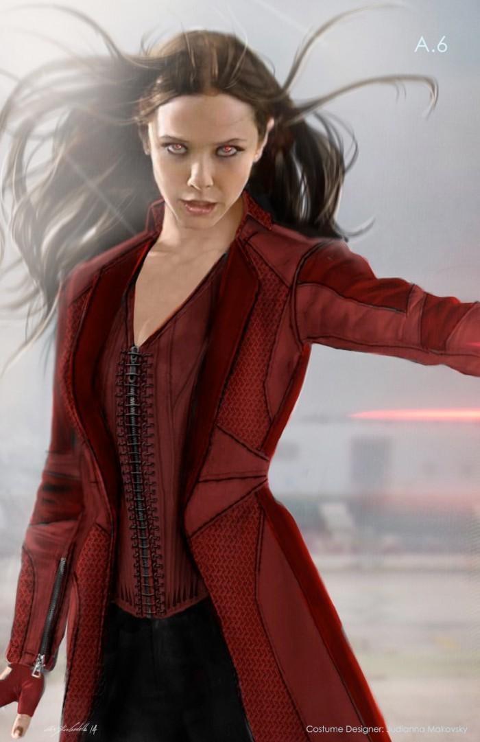 Alternate Scarlet Witch Costume Design
