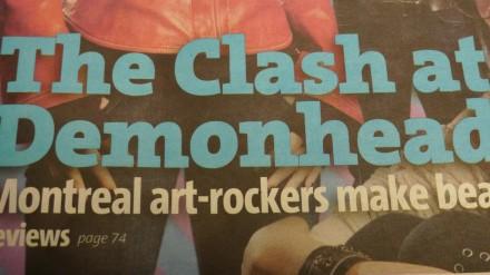clash at demonhead tease