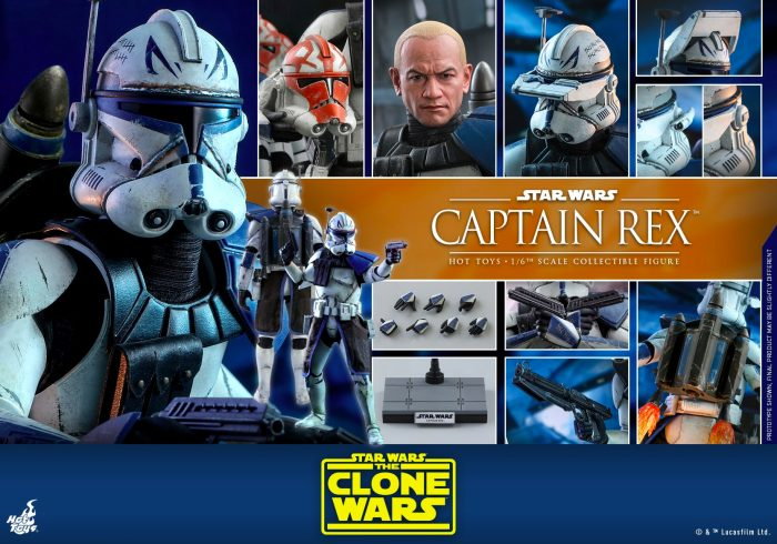 Hot Toys The Clone Wars Captain Rex Figure